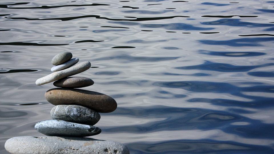 禅, 石, バランス, スタック, 岩, 小石, 自然, ハーモニー, 緩和, 瞑想, 静かな, 安定性