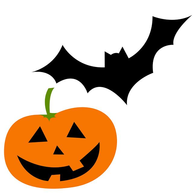 Картинки летучие мыши на хэллоуин нарисованные, без анимации