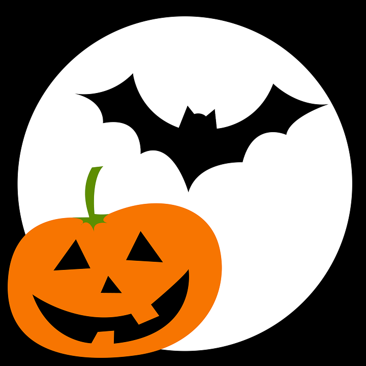 Bat Pumpkin Face Free Image On Pixabay