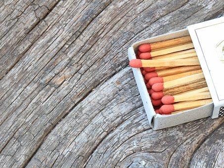 Match, Wood, Fire, Stick, Matchstick