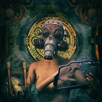 Steampunk, Scientists, Science Fiction