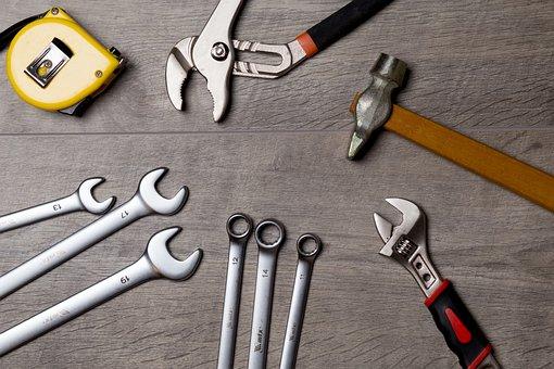 Tool, Repair, Work, Metal, Roulette, Key