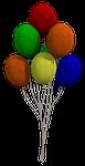 balloon, colorful