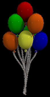Balão, Balões Coloridos, Colorido, Voar
