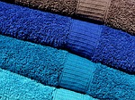 towels, blue, turquoise