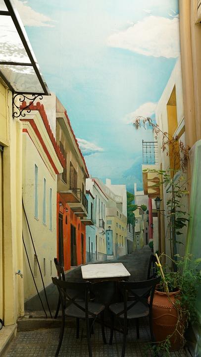 Wall, Painting, Art, 3D, Effect, Interior, Design