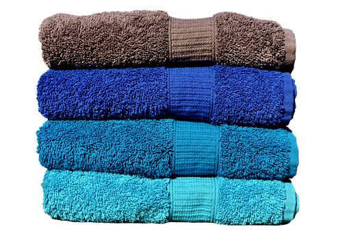 Towels, Blue, Turquoise, Grey, Colorful