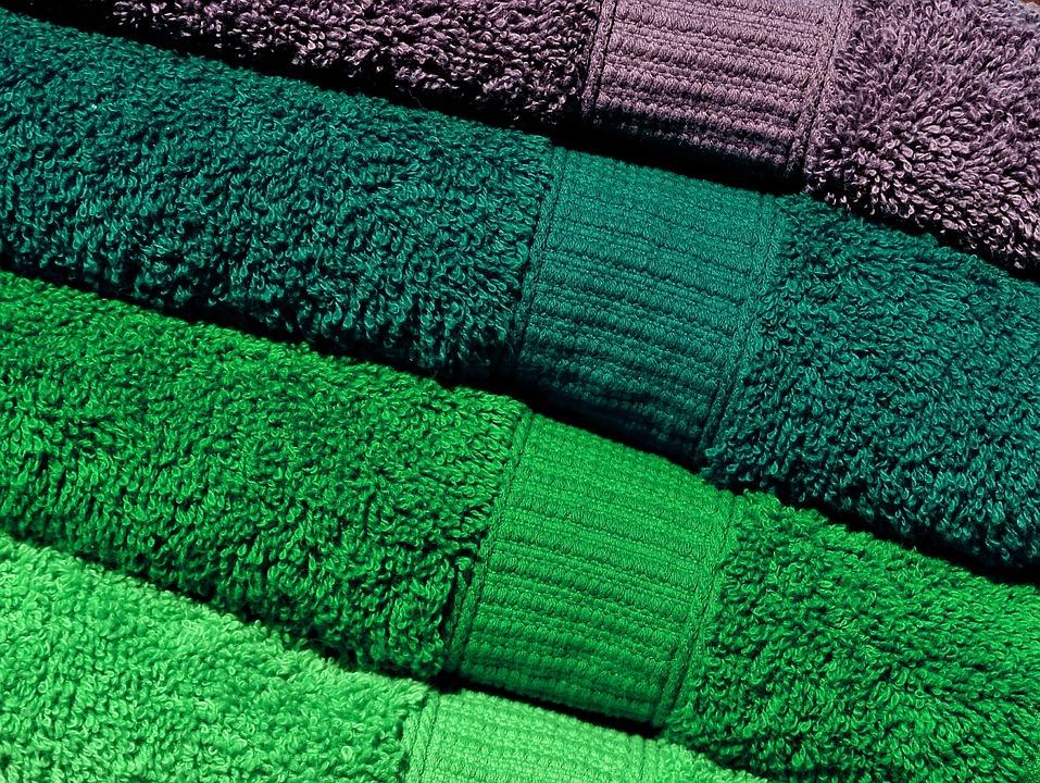 håndklæder grøn