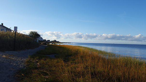 Clinton Harbor, Connecticut, Beach, Long Island Sound