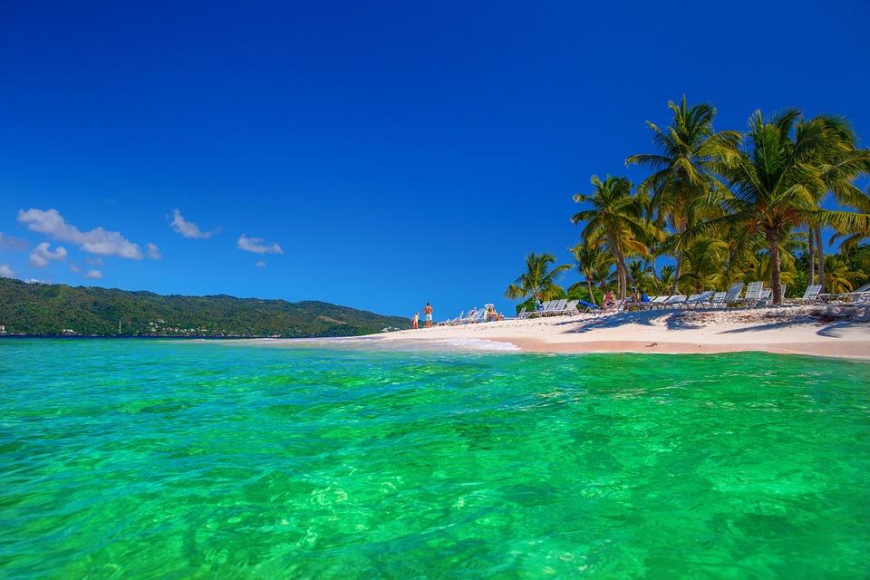 Dominikana, Cayo-Левантадо, Wyspa, Samaná, Tropikach