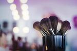 makeup, brushes
