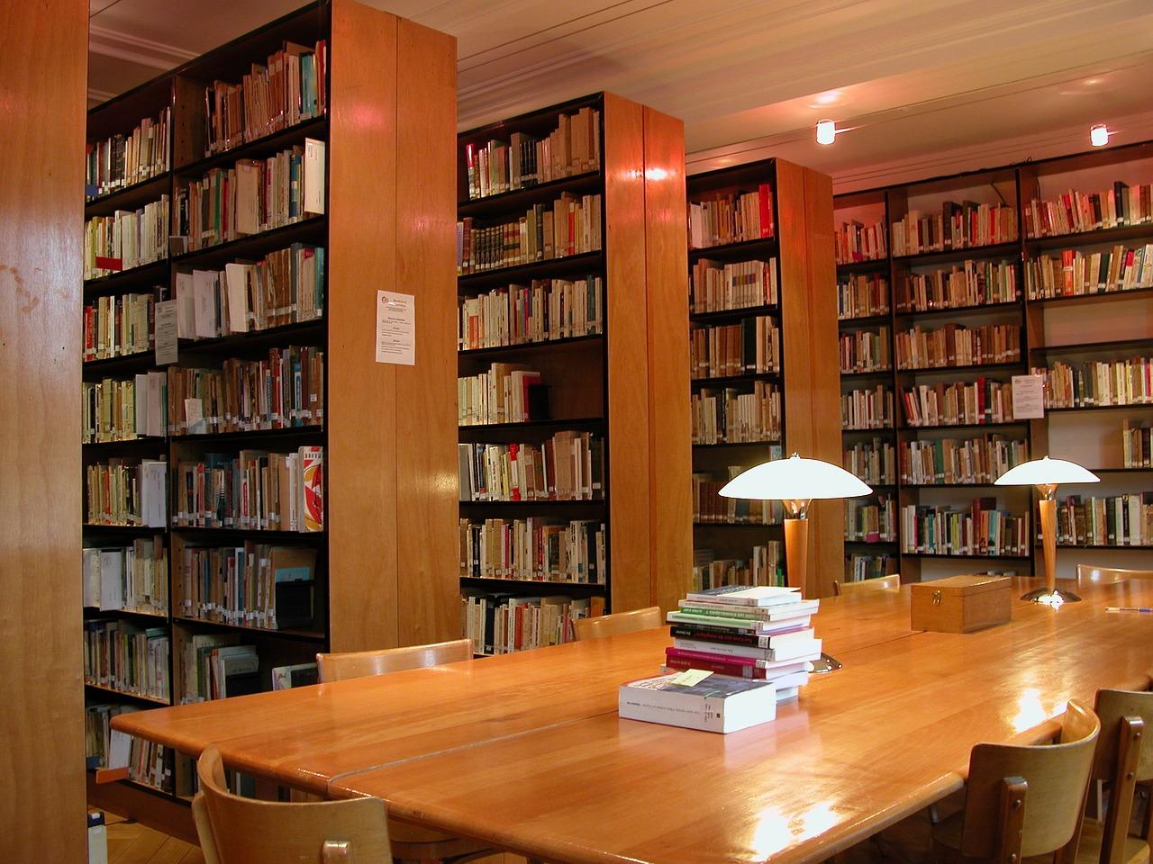Фотографии книг и библиотек