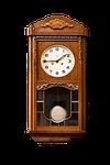 subject, clock, pendulum clock