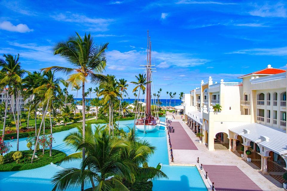 Dominikana, Hotel, Iberostar, Tropikach, Palmy, Wakacje