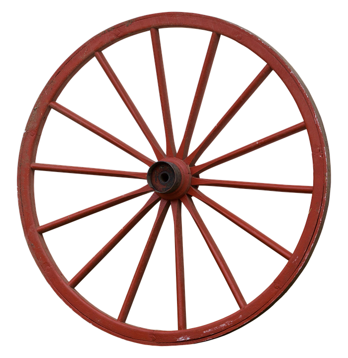 old wheel image collections