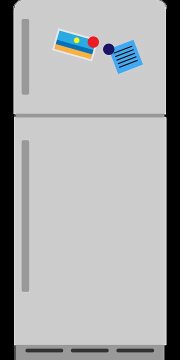 Kühlschrank Küche Home · Kostenlose Vektorgrafik auf Pixabay