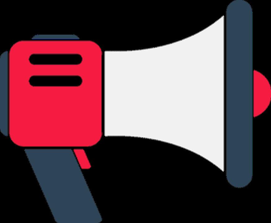 Symbol Farbe Megaphon Flaches · Kostenloses Bild auf Pixabay