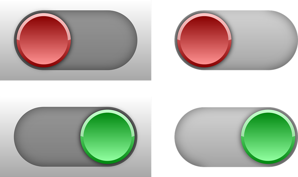 switch toggle control free vector graphic on pixabay
