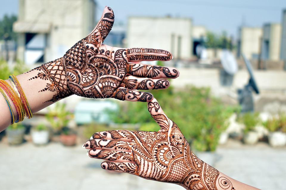 Mehndi Decorative Designs Henna Free Photo On Pixabay