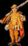 chaplin, soldier, army