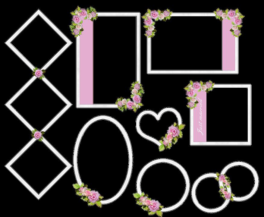 Wedding Hochzeit Rahmen · Kostenloses Bild auf Pixabay