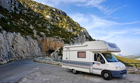 Mobile Home, Holiday, Camping, Travel