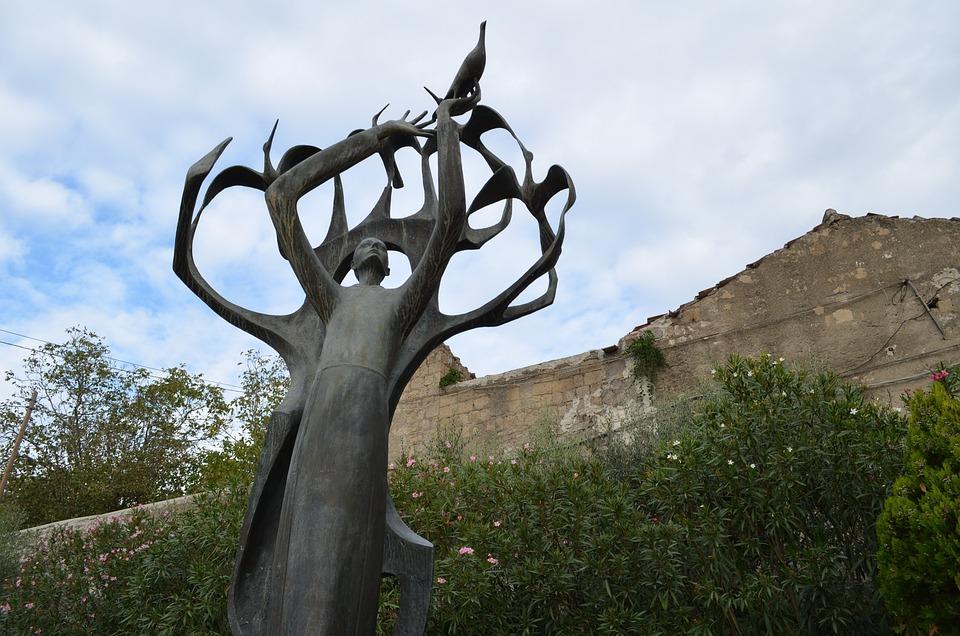 Statue St Francis Nola Free Photo On Pixabay
