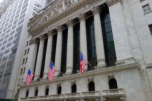 New York, Wall Street, Stock Exchange
