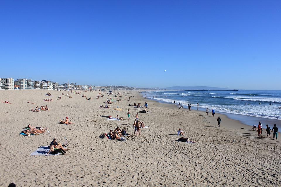 Beach, Marina Del Rey, Venice Beach, Venice, California