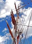 tall ship, main mast, rigging