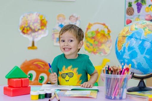 Enfants, École, Passions, Globe, École
