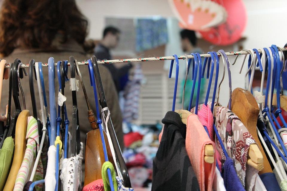 Bazar, Toko Barang Bekas, Organisasi, Kabinet, Pakaian