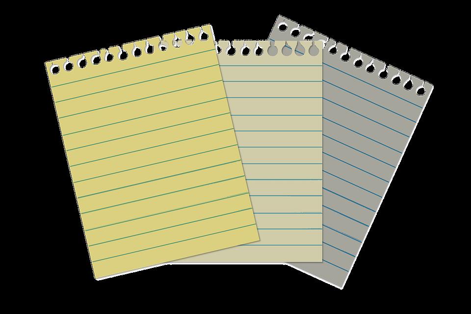 List, Demolition, Spiral Notebook, Rip, Torn, Tear
