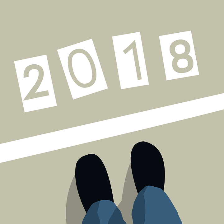Start Line, Starting, New Year, 2018, Concepts