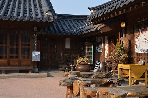 Hanok, Namsan, Seoul, Republic Of Korea