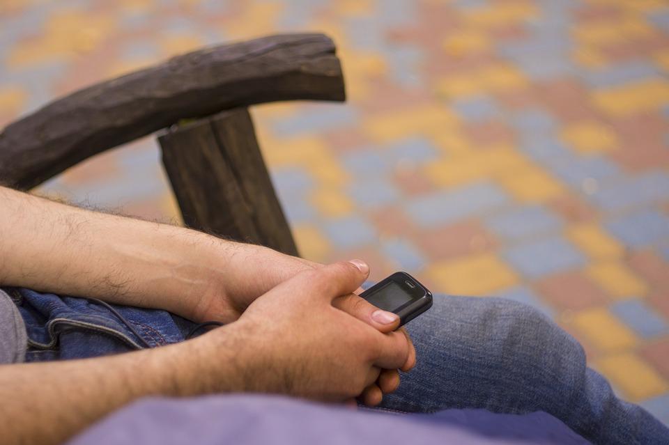 Park, Telefon, Wakacje, Mobile