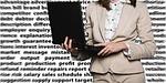 businesswoman, female, laptop