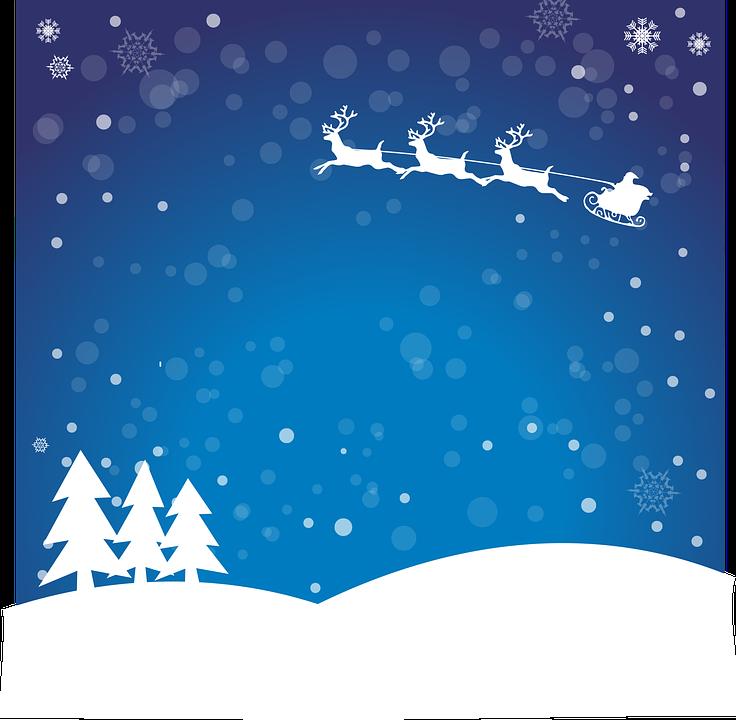 Weihnachten Santa Claus Winter · Kostenlose Vektorgrafik auf Pixabay