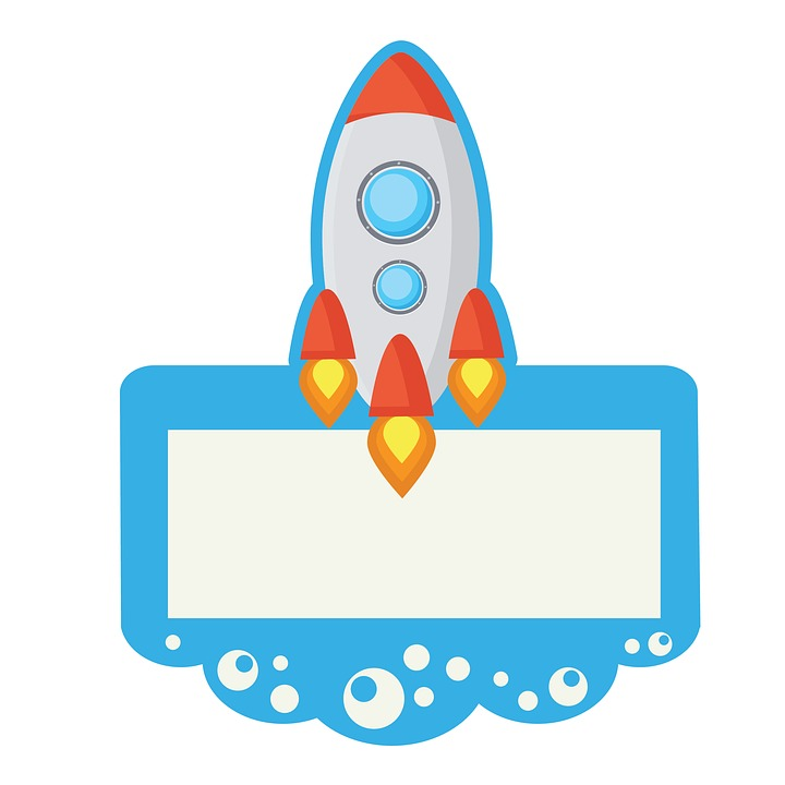 rocket spaceship clip art free image on pixabay rh pixabay com spaceship clipart black and white clipart spaceship
