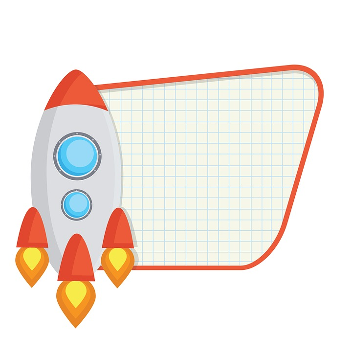 rocket spaceship clip art free image on pixabay rh pixabay com clipart space ship clipart spaceship black and white