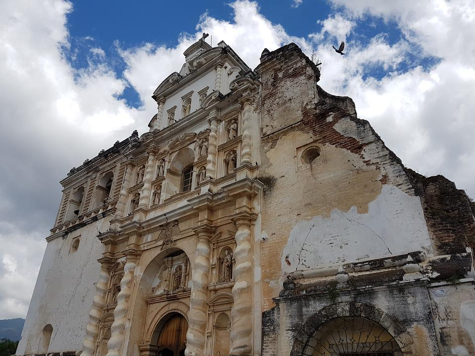 Antigua Guatemala, Kościoły, Gwatemala, Holiday