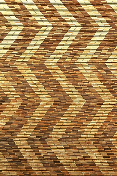 Klinker Muster fassade klinker zackenmuster kostenloses foto auf pixabay