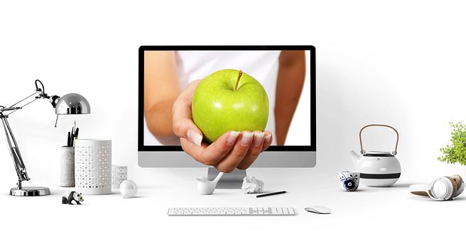 Apple, Frutas, Saludable, Mano, Oferta