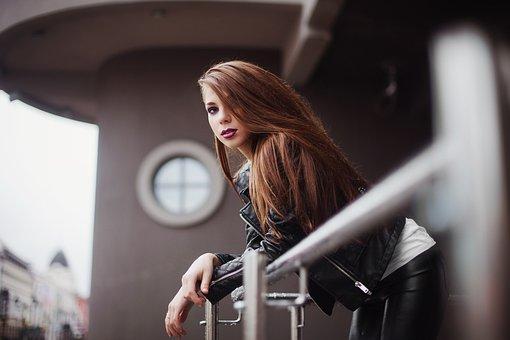 Girl, Makeup, City, Modern Style, Skin