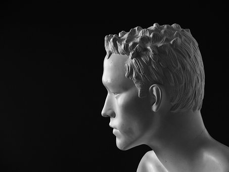 Head, Man, Figure, Art, Display Dummy