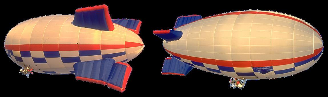 El Dirigible, Zeppelin, Aviación