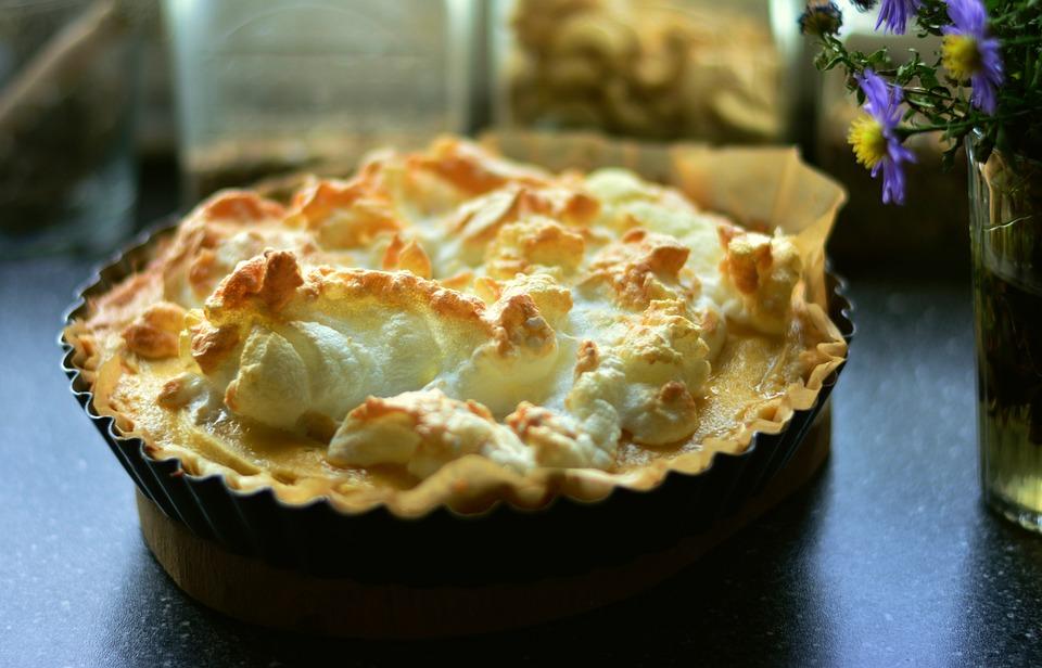 æble Tærte æbletærte Marengs Gratis Foto På Pixabay