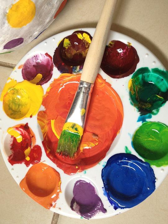 Photo Gratuite: Peinture, Palette De Couleurs - Image Gratuite Sur