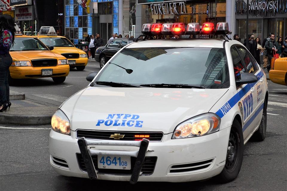警察车, 纽约警局, 曼哈顿, 警察, 车, 缔约方会议, 城市, 法, 执法, 安全, 新, 纽约, 主任