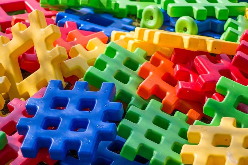 Klocki, Kolor, Kolorowe, Zabawa, Dzieci, Zabawki